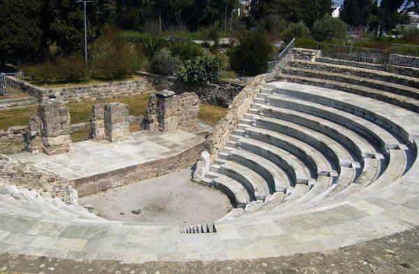 罗马剧院和排练场_卡塔尼亚_意大利