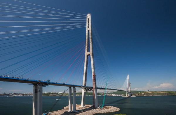 俄罗斯岛大桥_符拉迪沃斯托克(海参崴)