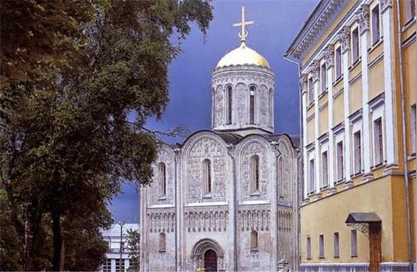 德米特里耶夫斯基教堂_弗拉基米尔_俄罗斯