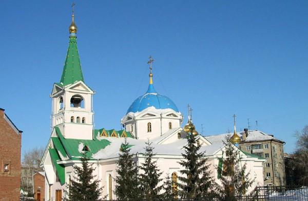 耶稣升天大教堂_新西伯利亚 _俄罗斯