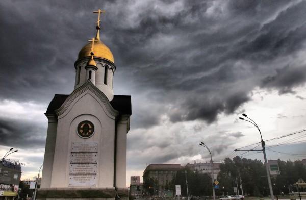 圣尼古拉礼拜堂 _新西伯利亚 _俄罗斯