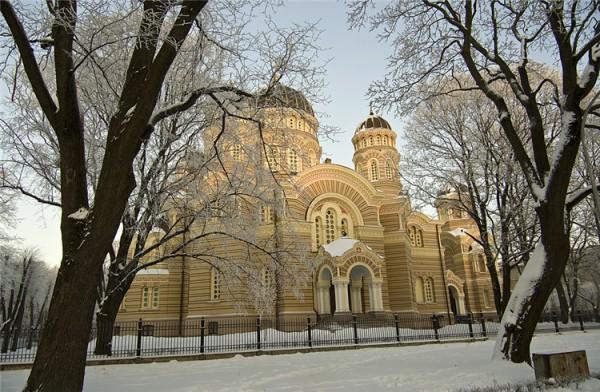 基督诞生教堂_哈巴罗夫斯克_俄罗斯