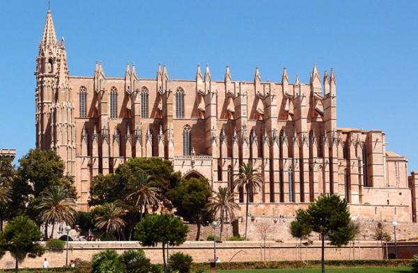 马略卡岛帕尔马大教堂_拉斯帕尔马斯_西班牙