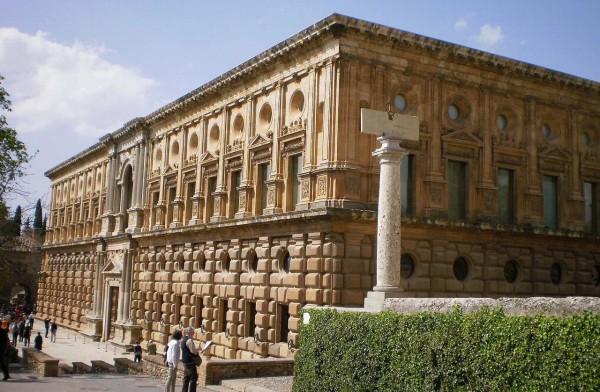 查理五世宫_格拉纳达_西班牙