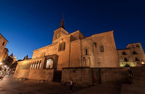 塞哥维亚圣马丁教堂_塞哥维亚_西班牙