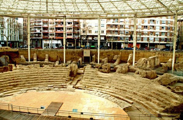 罗马奥古斯都剧院博物馆_萨拉戈萨_西班牙
