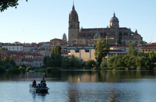 新旧教堂_萨拉曼卡_西班牙