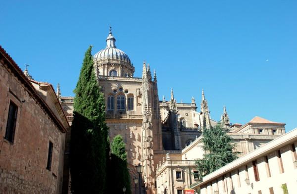 萨拉曼卡大教堂_萨拉曼卡_西班牙