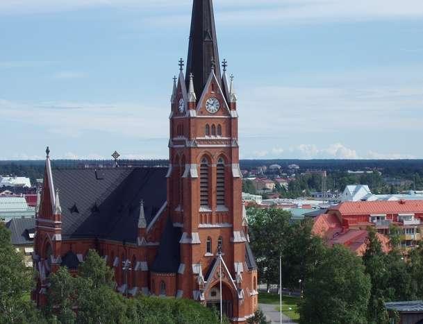 吕勒奥大教堂旅游