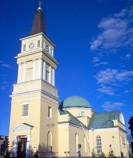 奥卢大教堂旅游