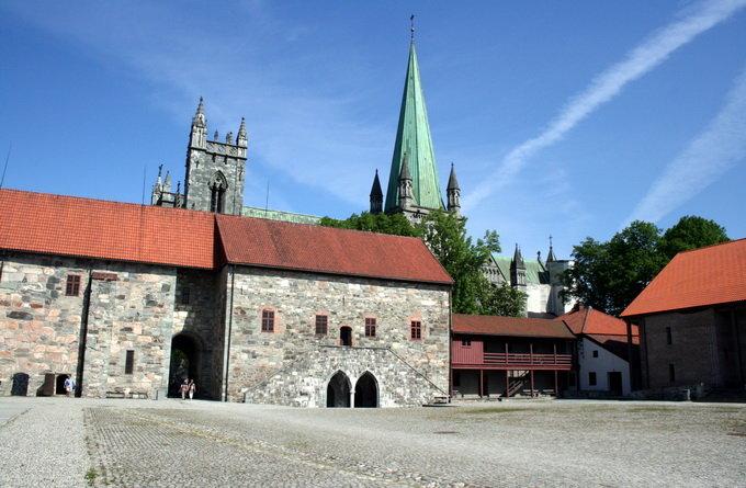 大主教宫博物馆_特隆赫姆_挪威