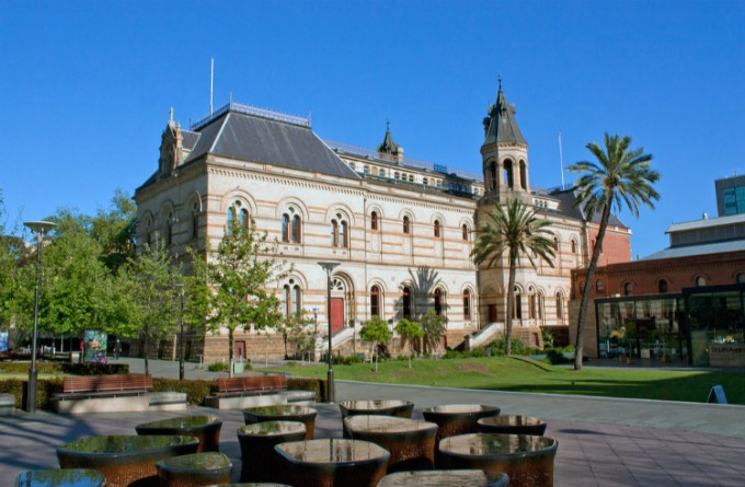 南澳大利亚博物馆_阿德莱德_澳大利亚
