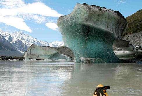 塔斯曼冰川旅游
