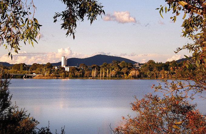 格里芬湖_堪培拉_澳大利亚