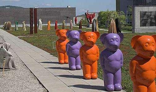 雕塑艺术公园旅游