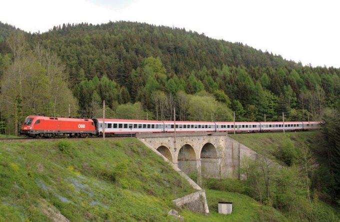 森默林/塞默灵铁路_巴登_奥地利