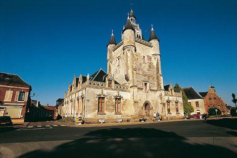 比利时和法国钟楼