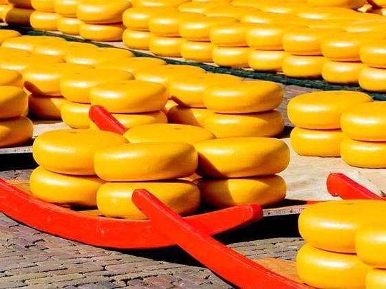 阿克马乳酪市场