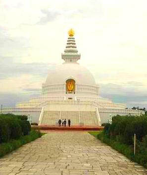 西寺院区_蓝毗尼_尼泊尔