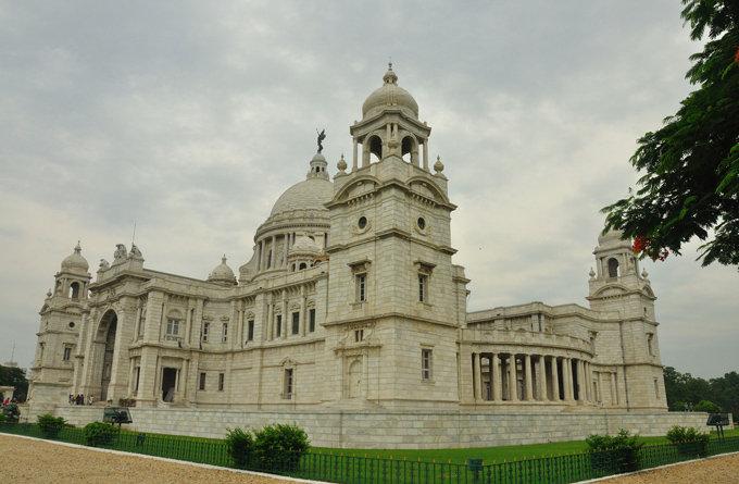 维多利亚纪念馆_加尔各答_印度