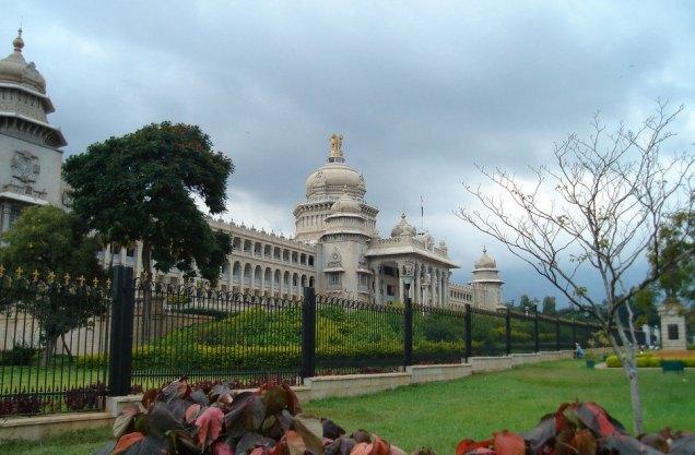 邦议会大厦_班加罗尔 _印度