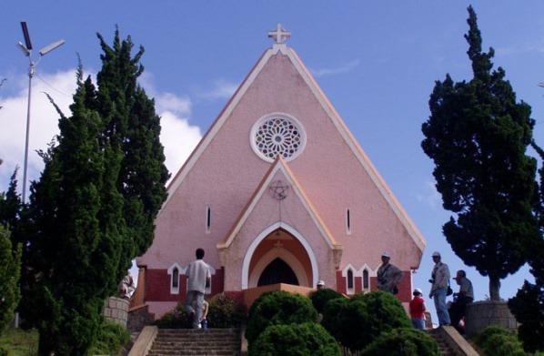 大叻玛丽修道院_大勒_越南