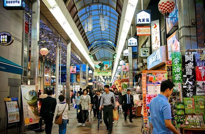 新京极商业街_京都_日本