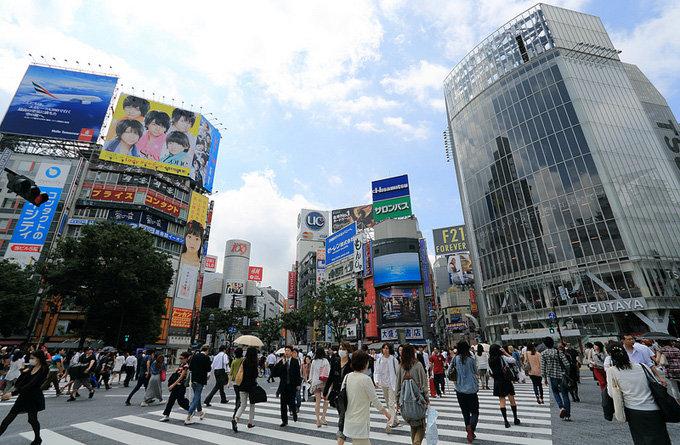 涩谷_东京_日本