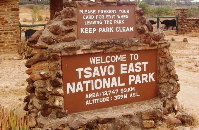察沃国家公园 _蒙巴萨 _肯尼亚