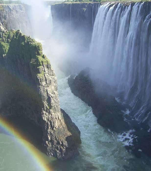 莫西奥图尼亚瀑布(维多利亚瀑布)