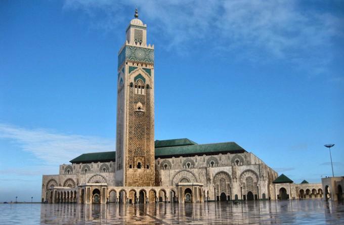 哈桑二世大清真寺_卡萨布兰卡_摩洛哥