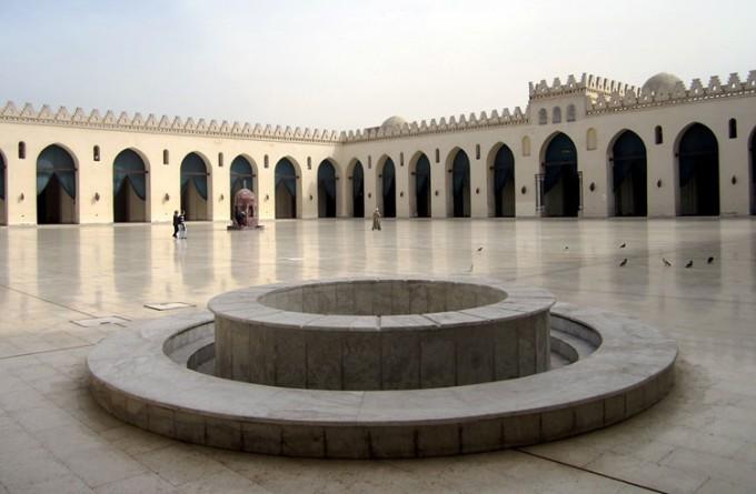 哈基姆清真寺_开罗_埃及