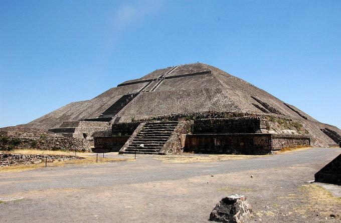 太阳金字塔_墨西哥城_墨西哥