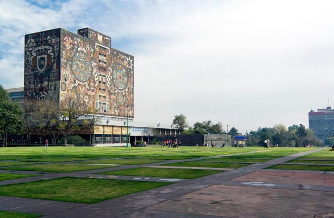 墨西哥国立自治大学城_墨西哥城_墨西哥