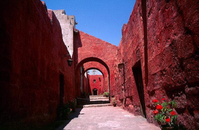 圣卡塔莉娜修女院_阿雷基帕_秘鲁