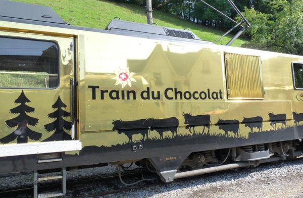 瑞士巧克力列车_蒙特勒_瑞士