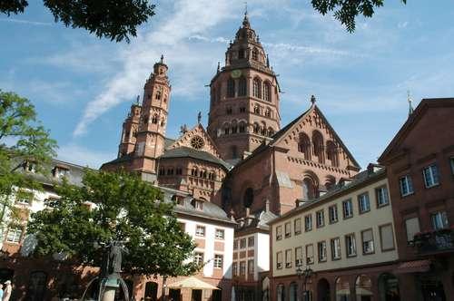 美因茨大教堂旅游